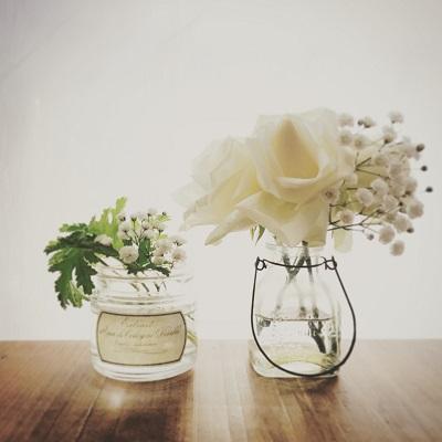 ボタニカル 花のある暮らし フラワーベース